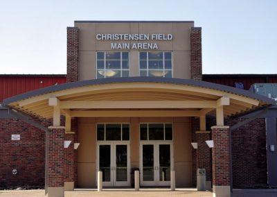 Christensen Field Arena exterior front